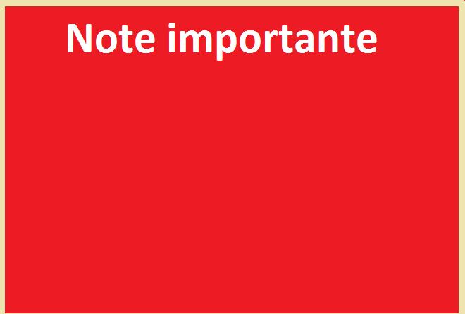 NOTE IMPORTANTE- Report des examens de rattrapage