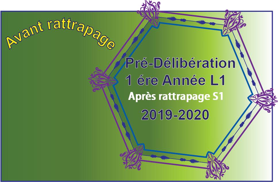 Pré délibération L1 – le  08/12/2020