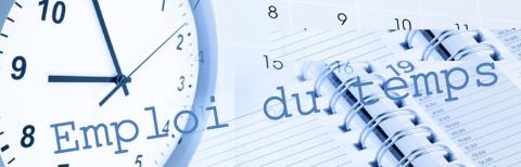 Emploi du temps du 2ème semestre L2 & L3 – Département de biologie