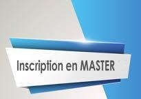 Formulaire de demande d'inscription en Master 1